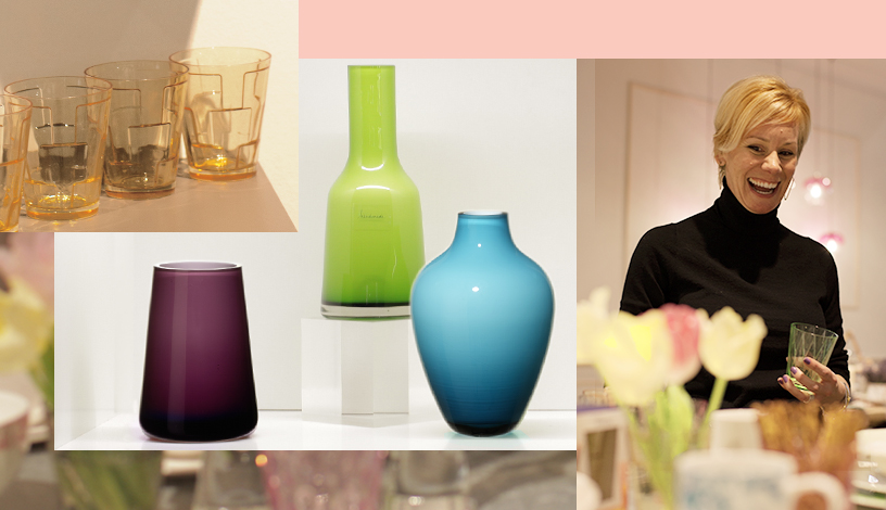 Sixties-glass vases-colourful-Ambiente