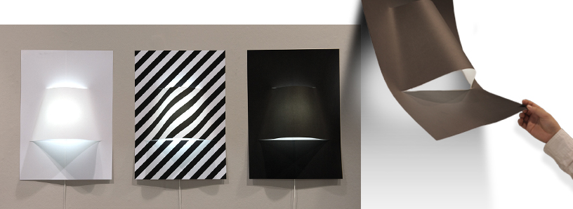 Wall lamp-Paper-LED-talents-Ambiente-3