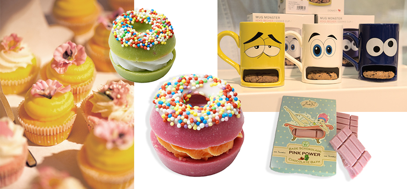 cupcakes donuts bath pink power cups monster