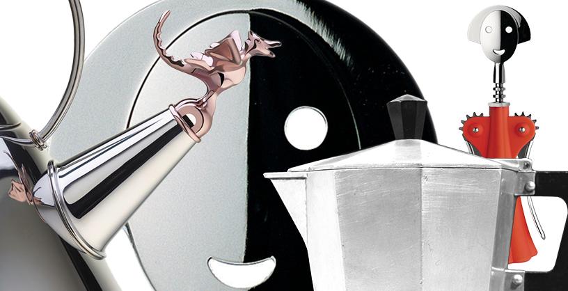 Italien_Design_Stil_Bialetti_Espresso Machine_Klassisch_Alessi_Korkenzieher_Messe_Ambiente_01