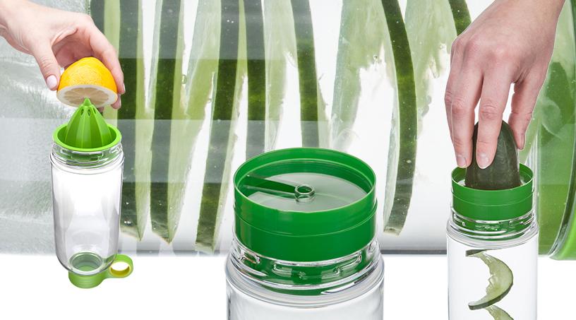 Zitruspresse-Trinkflasche-Zing-Gurkenschneider-03