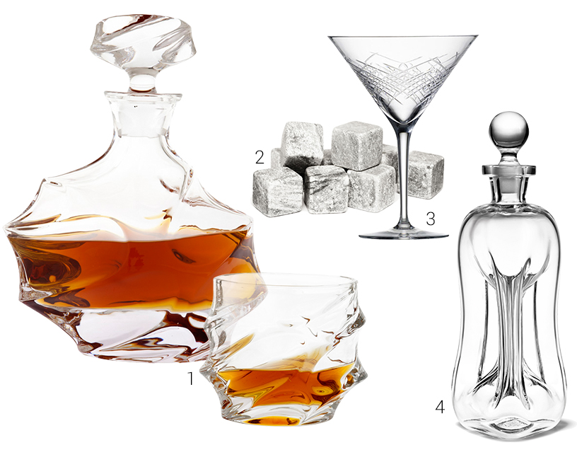 Carafe-Glass-Whisky Stones