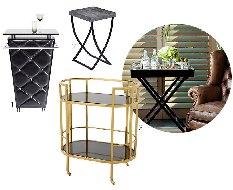 Side table-Serving trolley-table