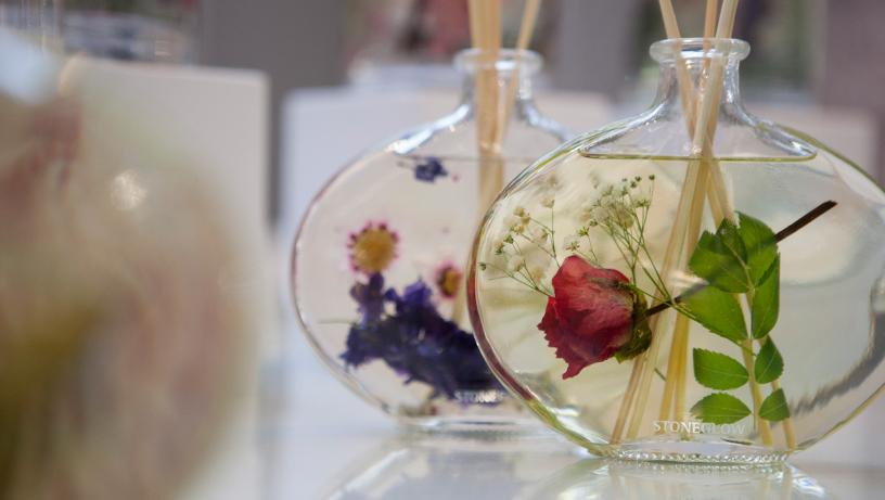 Blumen-Rose-Duft-Flakon
