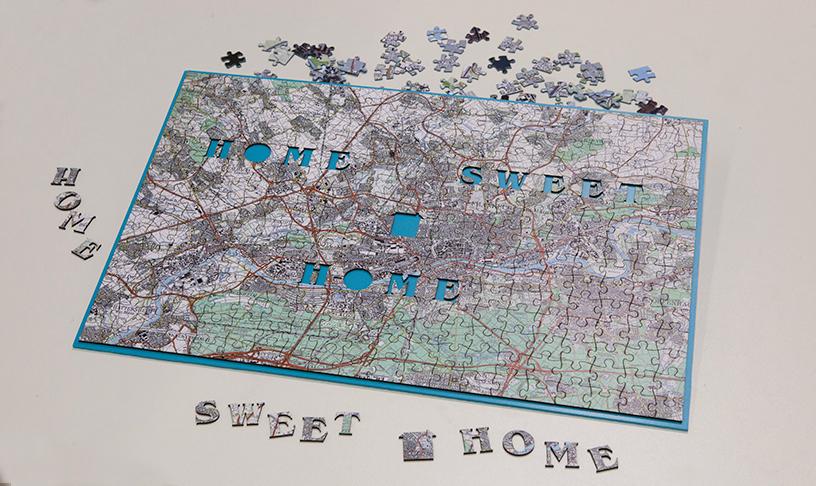 Home-Puzzle-Stadtplan