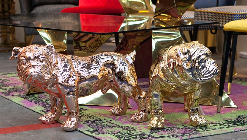 Hund-Deko-Tisch