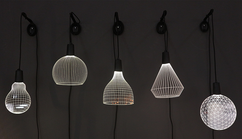Lampen-schwarz-weiss- zweidimensional-Plexiglas-1