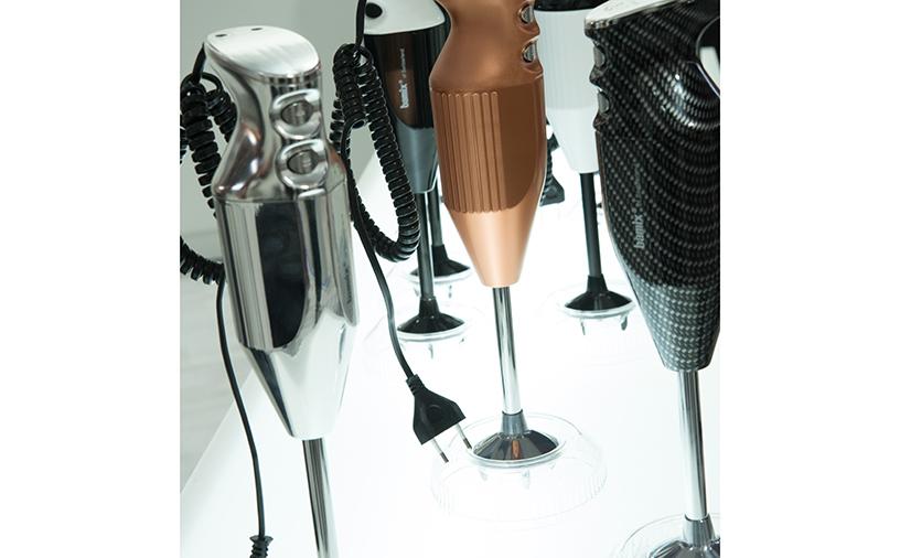 Mixer-Silber-Schwarz