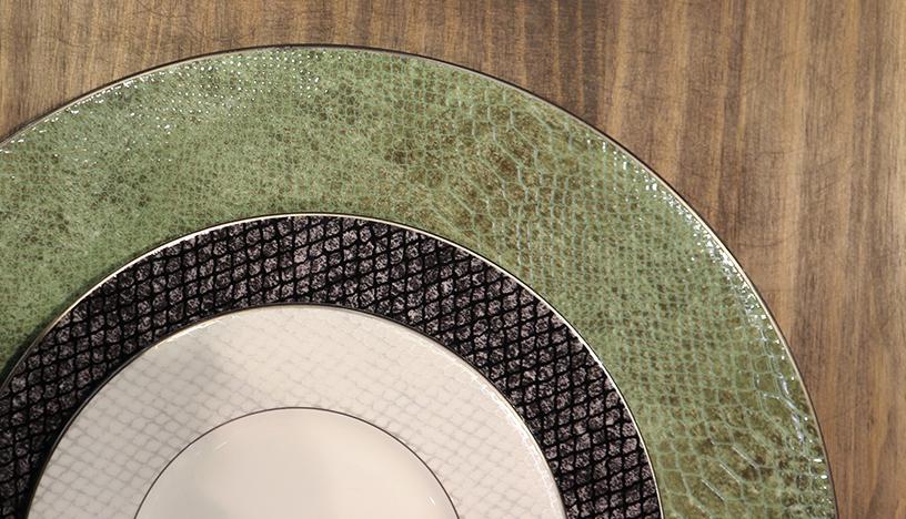 Tischset-Material