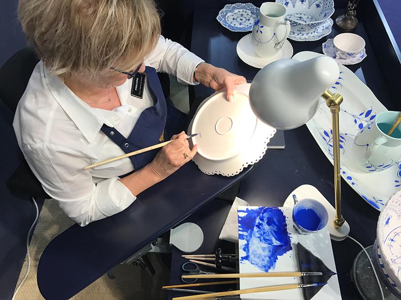 zeichnen-malen-Blau-Handarbeit