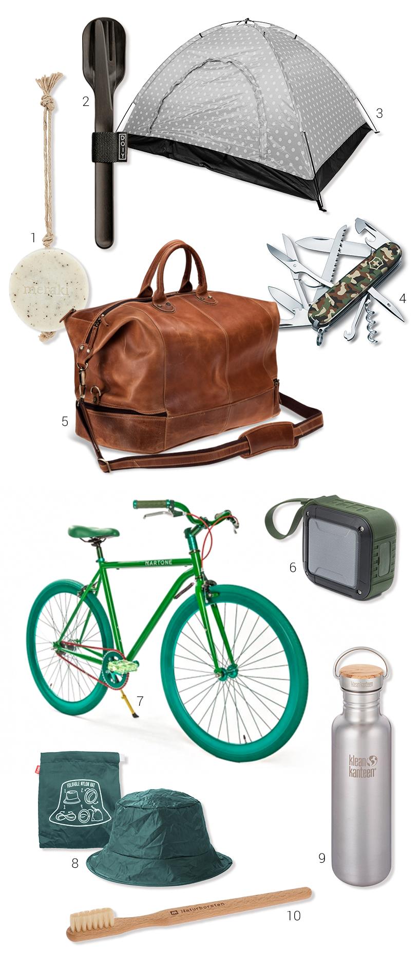 Natur-Camping-Radtour-Campingzelt-Fahrrad-Regenhut-04