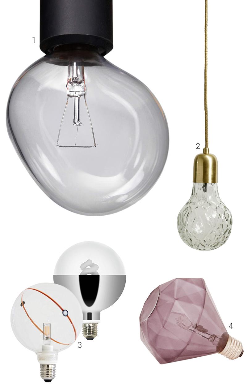 Glühbirne Form blasenförmig Licht Design
