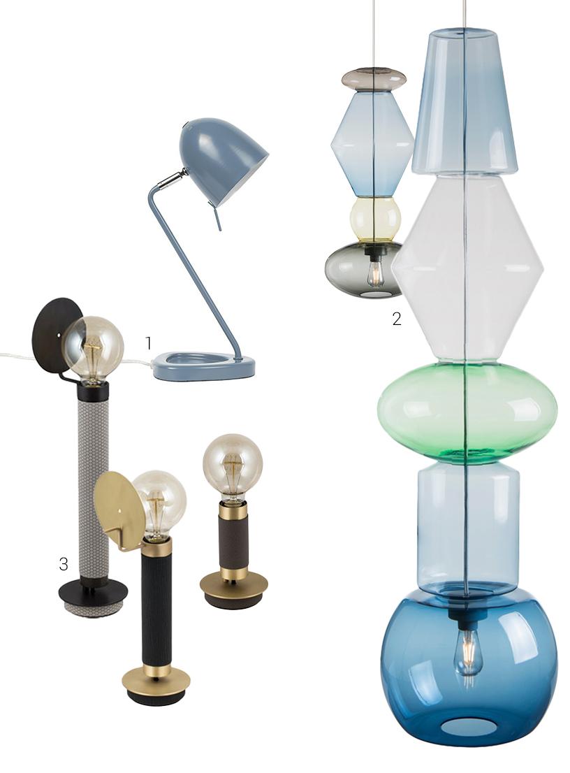 Industrial Design Retro Chic Farbe Licht
