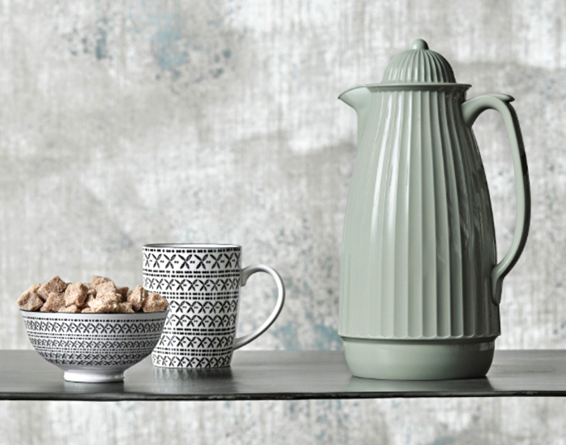 Mint green thermos jug from Nordal
