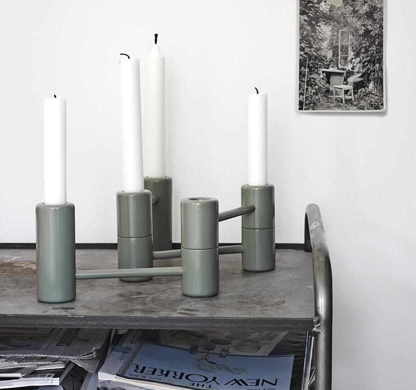 Segments Kerzenhalter für Skagerak, Design von Anton Björsing