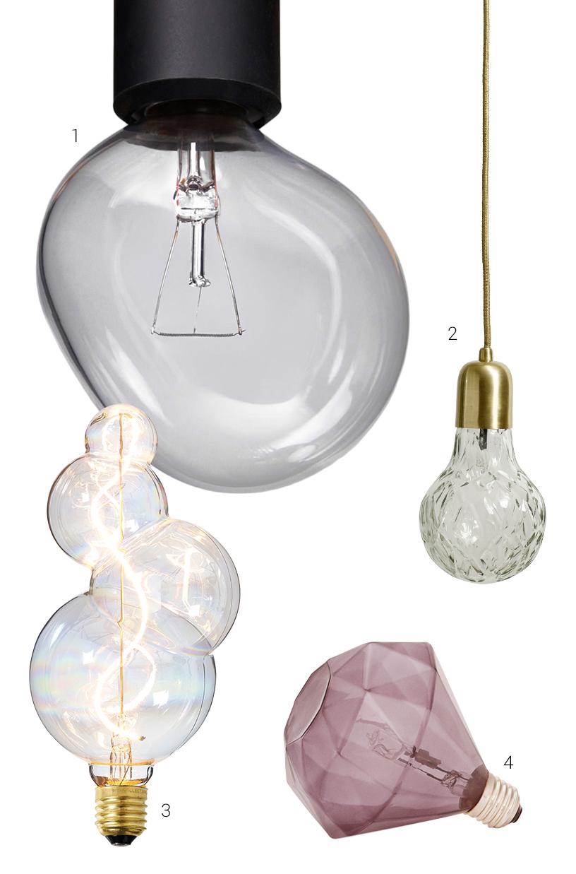 bulb shape diamond light decorative