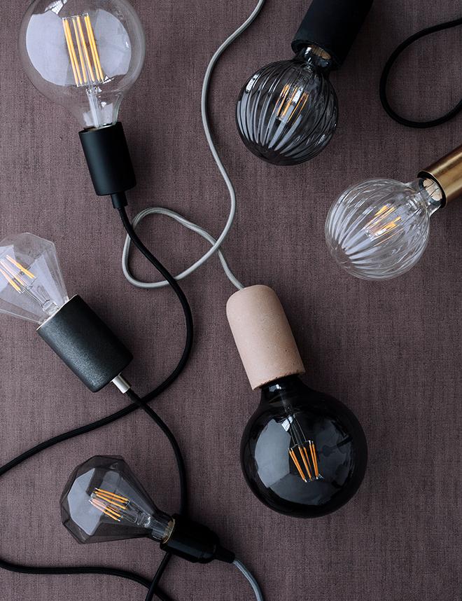 light bulb shape diversity design from Broste Copenhagen