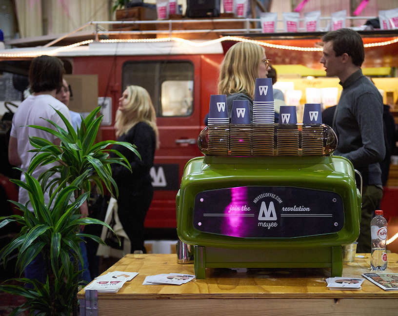 Impession from the Amsterdam Coffee Festival for new trends