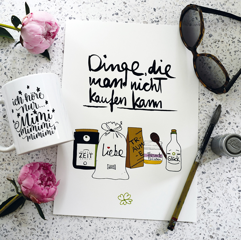 Design from Formart, combining illustration and handlettering typography