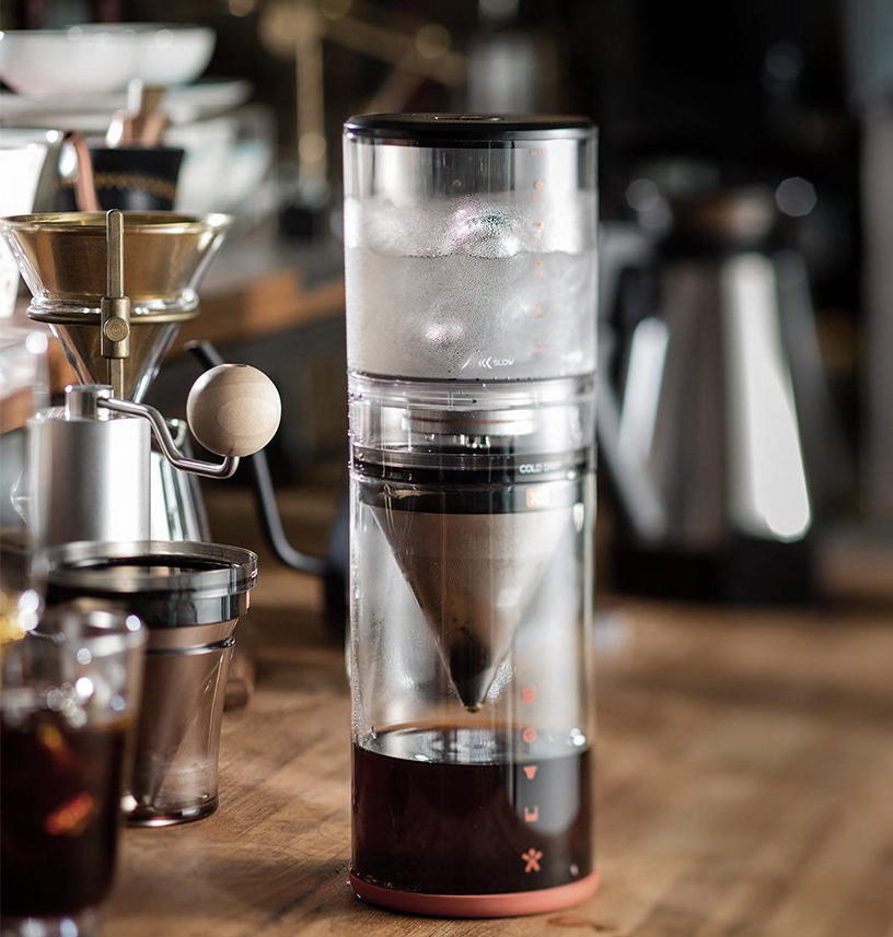 Closer look on the Beanplus Cold Brew X5, a slow-drip machine for coffee preparation