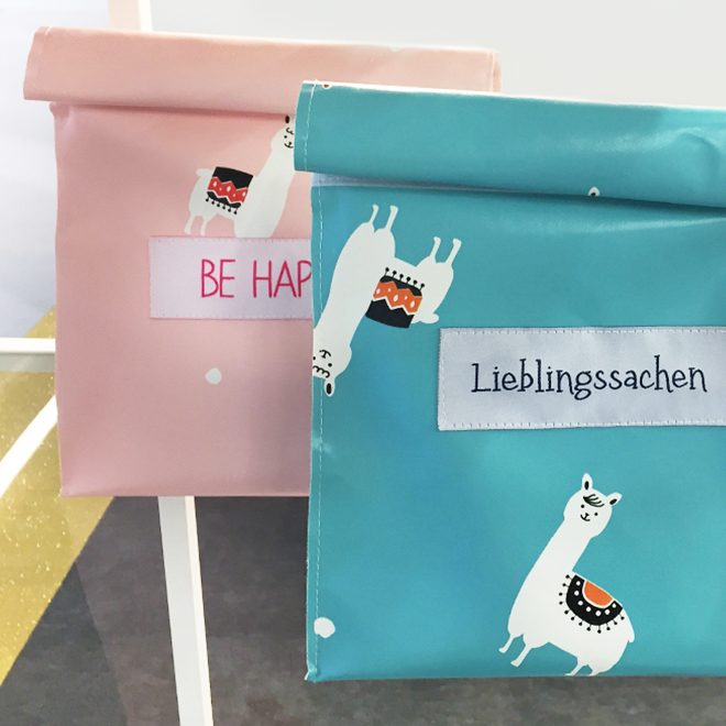 Lunch bags from Stoffbox Hamburg at Ambiente 2018