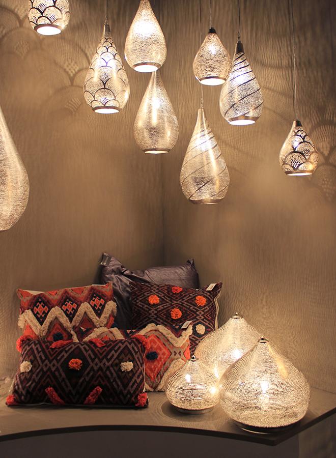 Lampen und Kissen von Zenza auf der Ambiente 2018