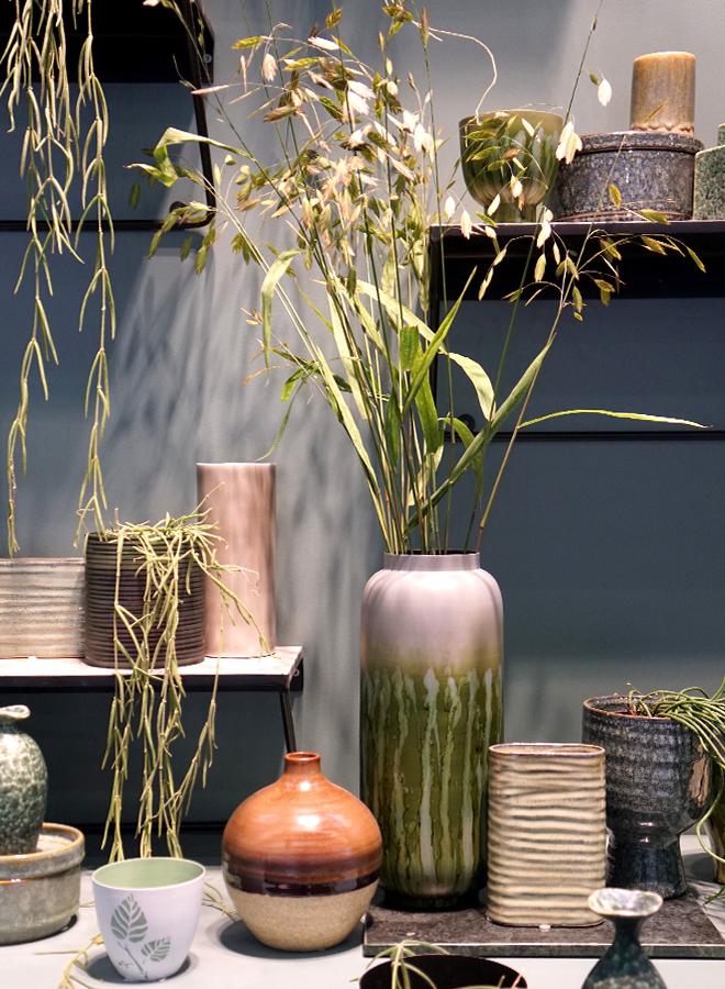 Vasen und Accessoires von Bloomingville auf der Ambiente 2018