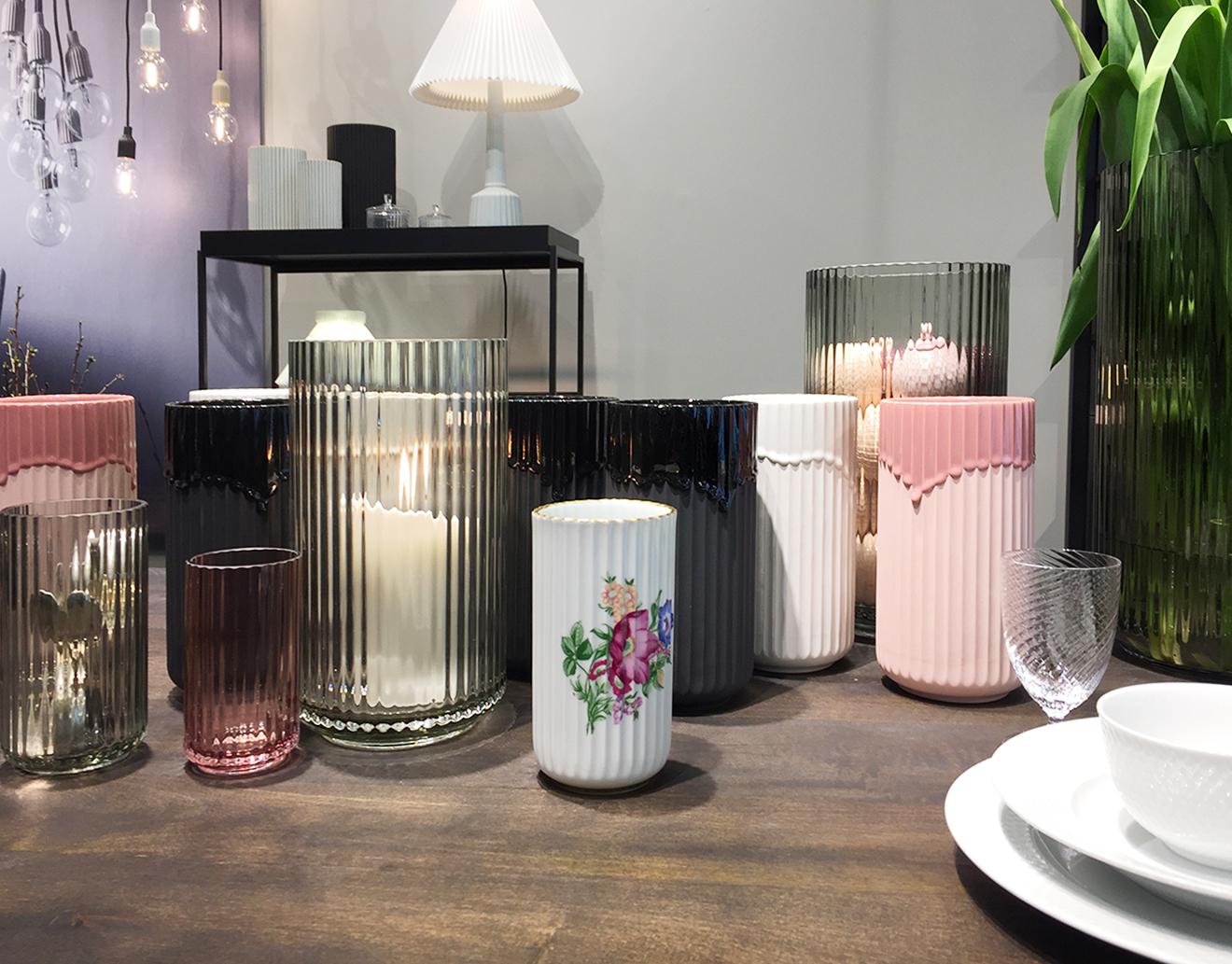 Vasen von Lyngby Porcelain auf der Ambiente 2018