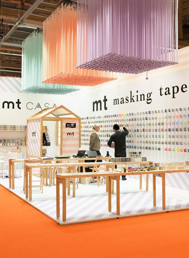 Klebeband von MT Masking Tape auf der Ambiente 2018