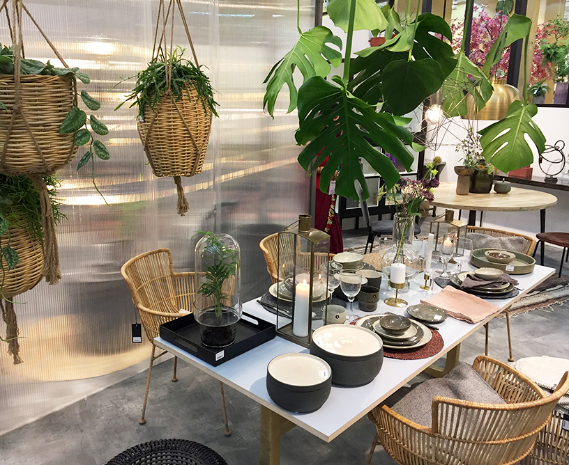 Furniture, tableware and interior accessories from House Doctor at Ambiente 2018