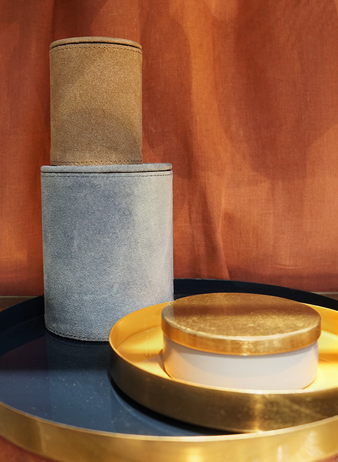 Brass trays and interior accessories from Au Maison at Ambiente 2018