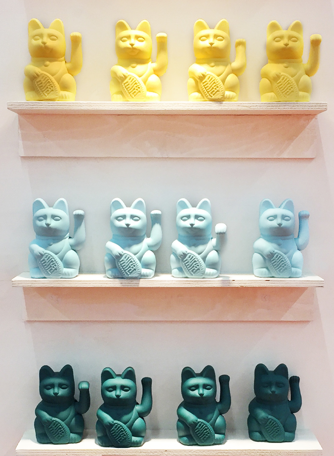 Beckoning cats from Donkey Products at Ambiente 2018