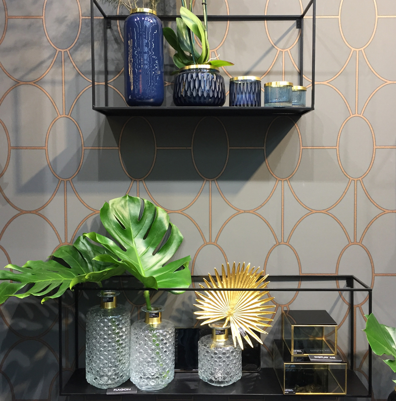 Shelfs, vases and decoration from Gift Company at Ambiente 2018