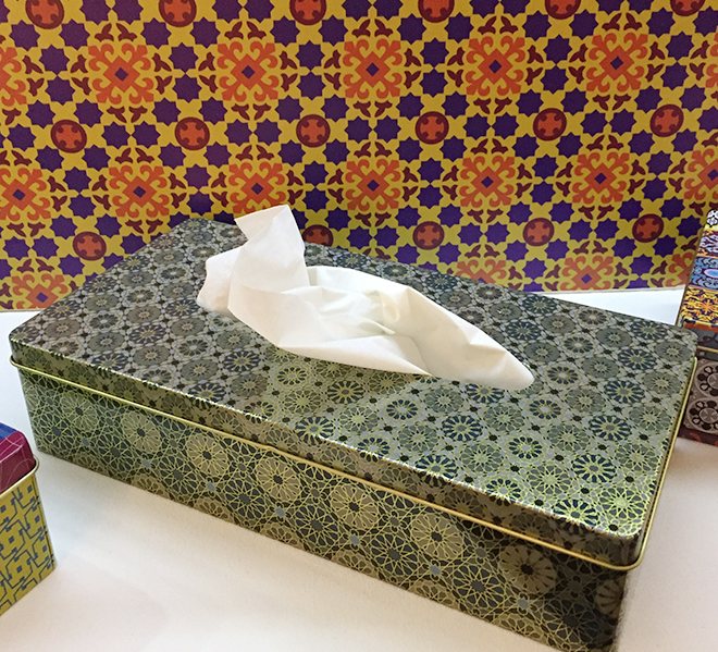 Tissue box from Images d'Orient at Ambiente 2018
