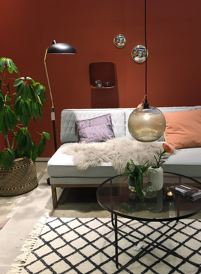 Furniture and interior accessories from Bloomingville at Ambiente 2018