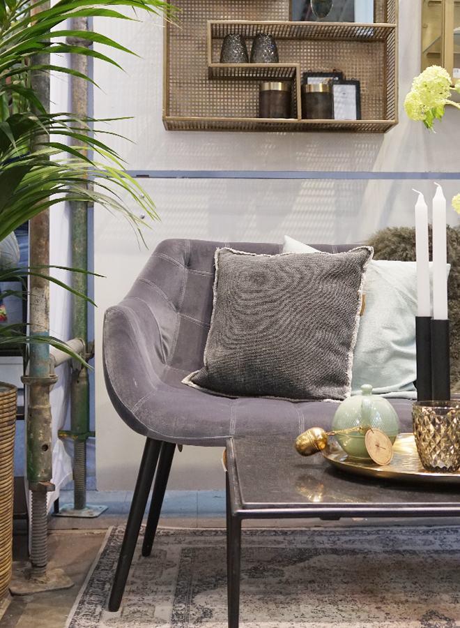 Sofa, candholder and interior accessories from Nordal at Ambiente 2018