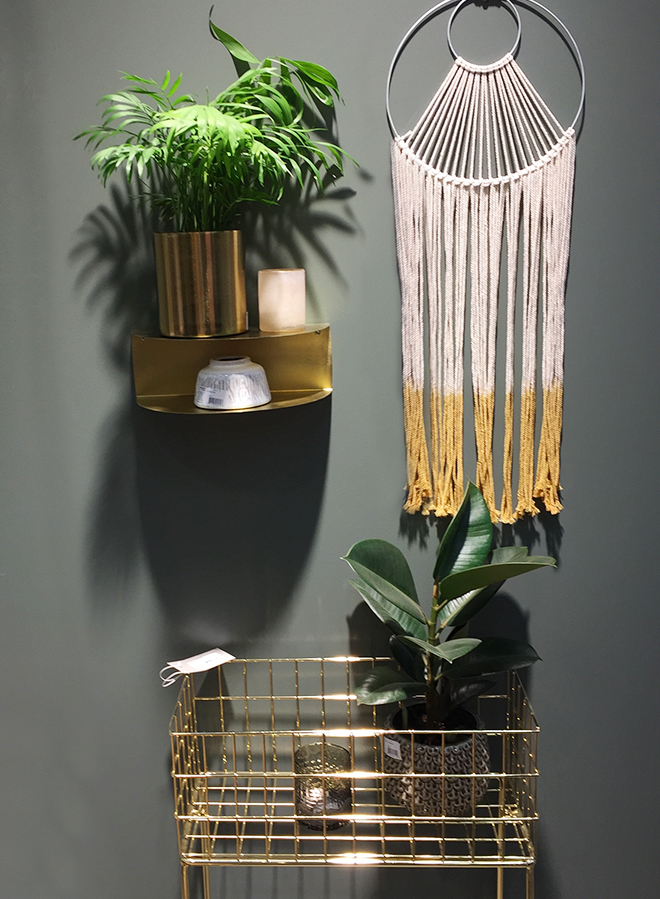 Interior decoration from Bloomingville at Ambiente 2018