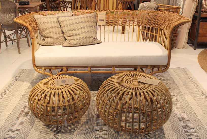 Rattan furniture from Sika Design at Ambiente 2018