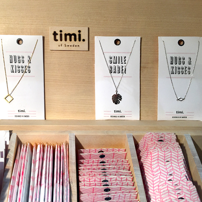 Necklaces from Timi of Sweden at Ambiente 2018