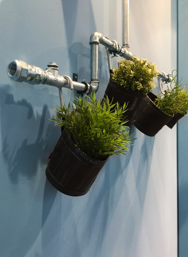 Flower pots from Stef Fauser Design at Ambiente 2018