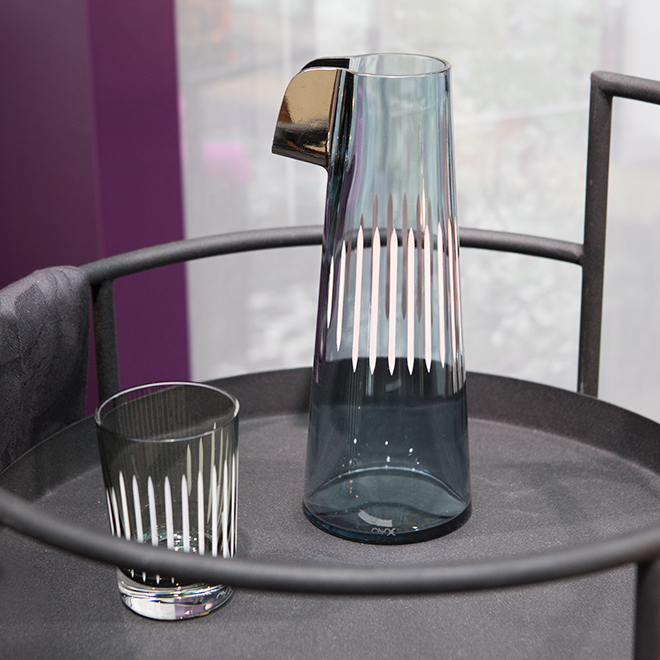 Glass carafe von Nude Glass at Ambiente 2018