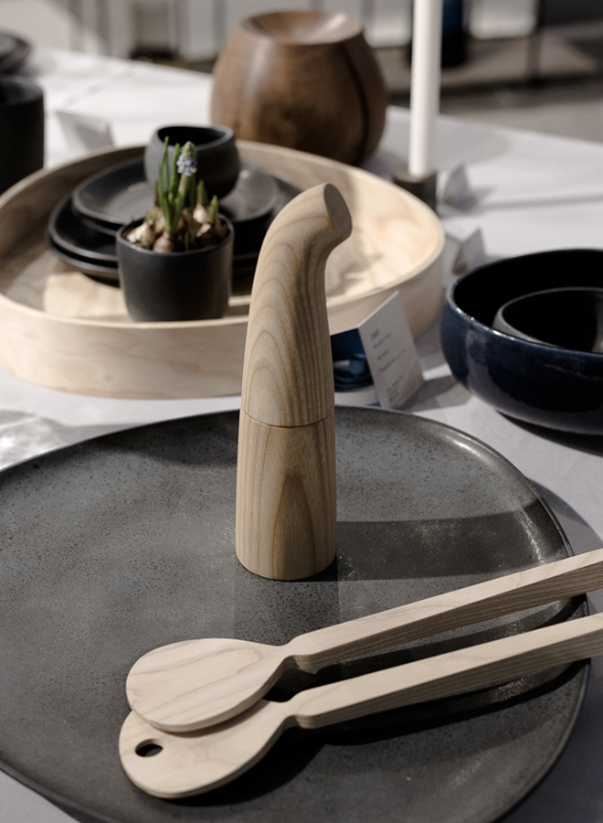 Wooden kitchen accessories from Ro Denmark at Ambiente 2018