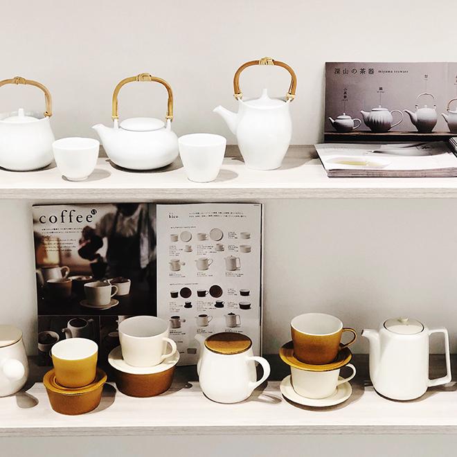 Teekannen und Teetassen von Miyama Mizunami auf der Ambiente 2018