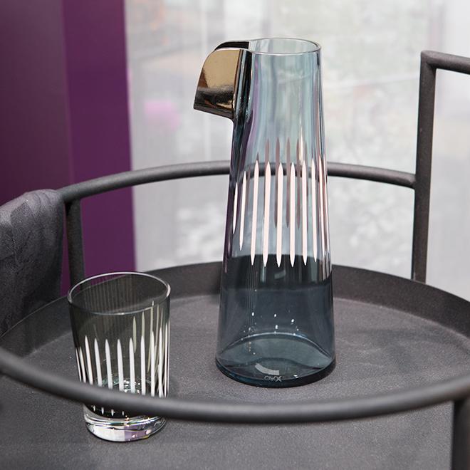 Glaskaraffe von Nude Glass auf der Ambiente 2018