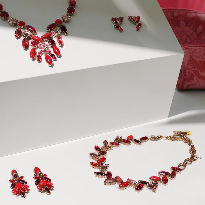 Halsketten und Ohrringe von Amaro auf der Ambiente 2018