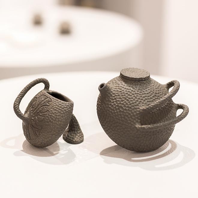 Teekanne und Tasse von Tell's Studio einem Talent auf der Ambiente 2018