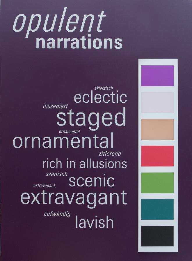 Pantone Farben für den Trend Opulent Narrations auf der Ambiente 2018