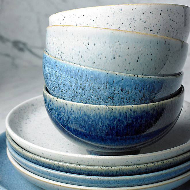 Plates and bowls from Denby Studio