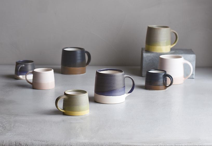 Tassen von Kinto aus Japan