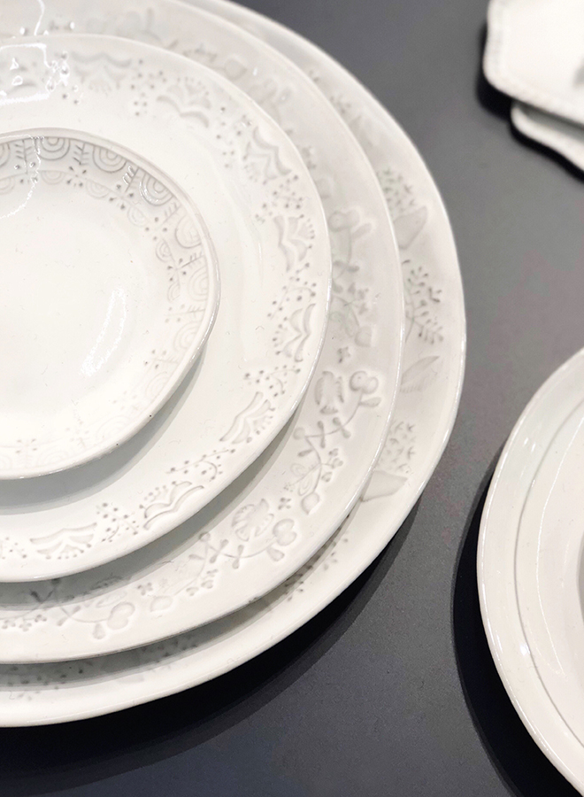 White tableware from Potpurri Japan at Ambiente 2018